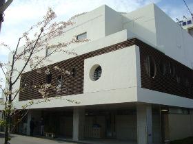 上山病院敷地内の桜